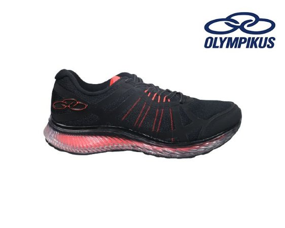 Tênis Olympikus Masculino 776 -  Vortex - Preto