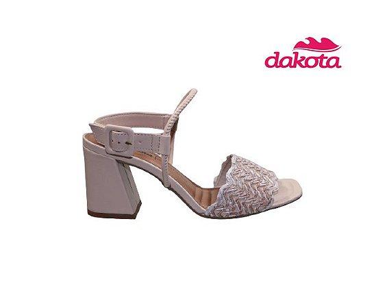 Sandalia Casual Dakota Z7092 - Aveia