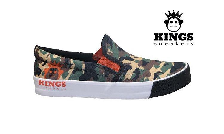 Tênis Masculino Kings KG0042 - Camuflado