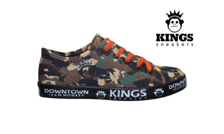 Tênis Infantil Masculino Kings KG0036 - Camuflado