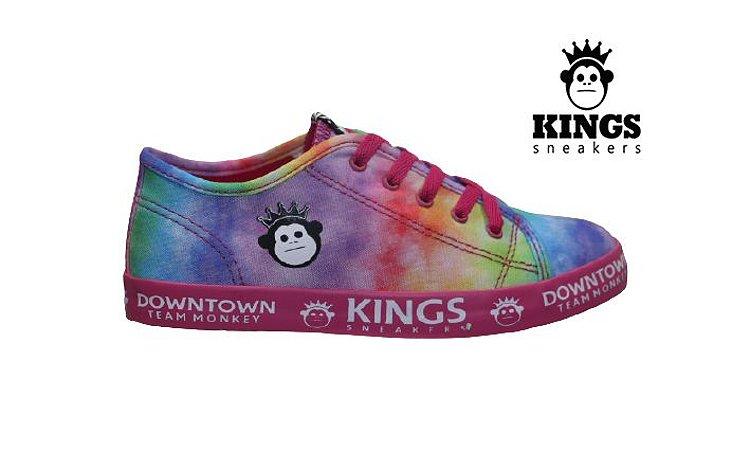 Tênis Infantil Feminino Kings KG0036 - Pink