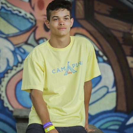 Camiseta Estonada Camping do Siri