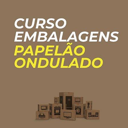 Curso de Embalagens de Papelão Ondulado -  (c/Kit de referência em embalagens + Livros)