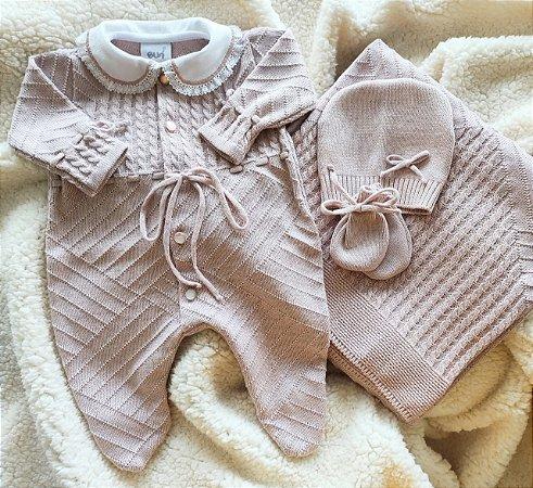 Saída Maternidade Feminina Tricot - Nude