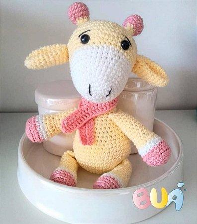 Boneco Amigurumi - Girafa