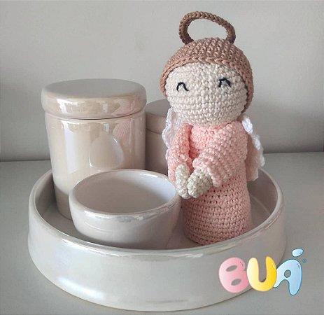 Boneco Amigurumi - Anjinho