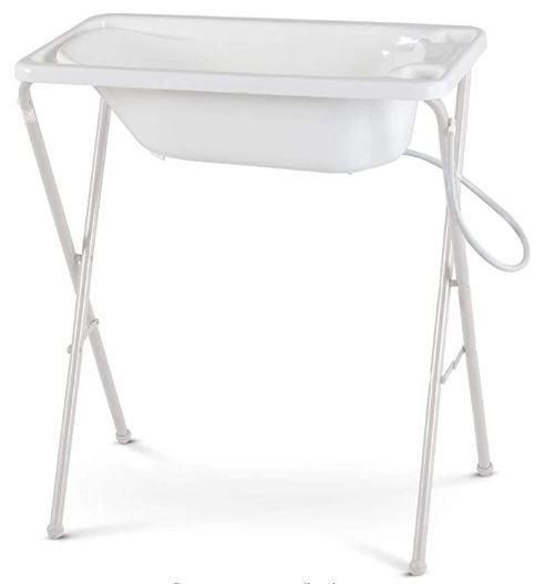 Banheira Bebê Plástica Galzerano - Branca