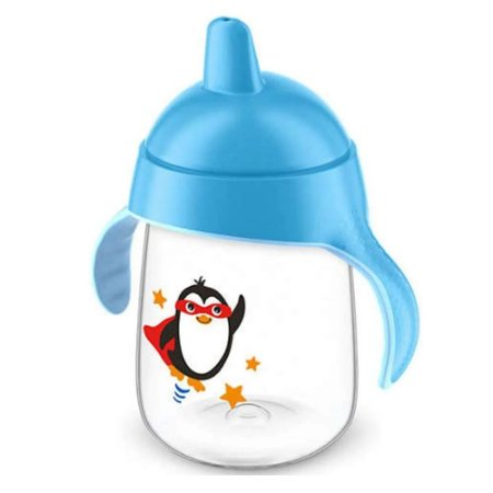 Copo Pinguim Philips Avent 340ml - Azul