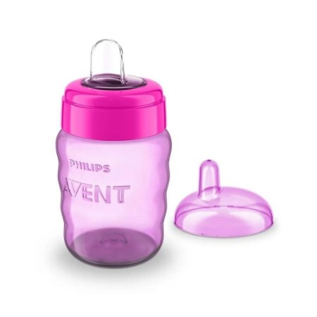 Copo bico silicone 260 ml Meninas - Avent