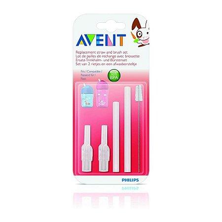 Refil de canudo e escova para limpeza Philips Avent