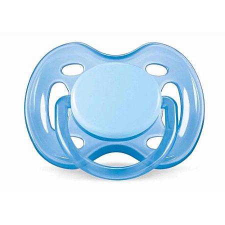Chupeta Freeflow Unitária 0 A 6m - Avent – Azul