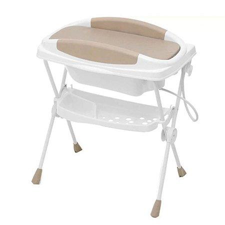 Banheira de Bebê Galzerano com Suporte e Trocador - Premium 20kg