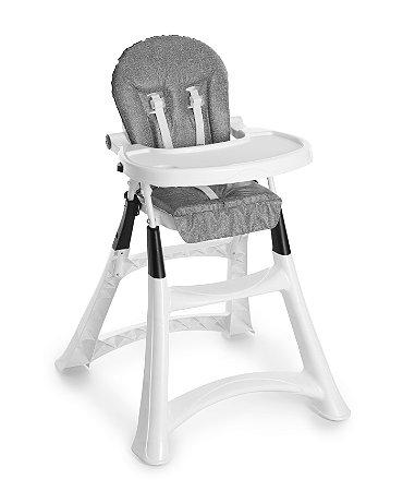 Cadeira de alimentação alta premium galzerano - Grafite