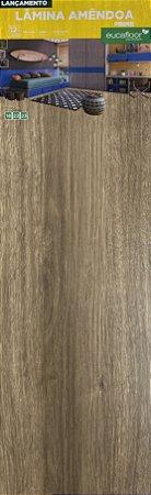 Piso Eucafloor Prime Lamina Amendoa Cor 18-22 - Colado 'Caixa com 2,138m²