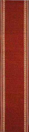 Passadeira bouble grega 0,60x 2,55 vermelho