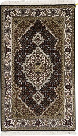 Tapete Tabriz Mahi 0,77 X 1,24 Indiano L0066663
