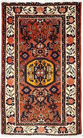 Tapete Hamadan 0,80 X 1,25 Iraniano L46975