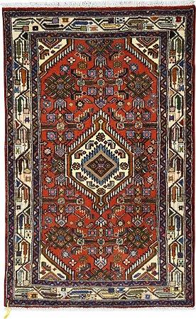 Tapete Hamadan 0,77 X 1,04 Iraniano L0067288