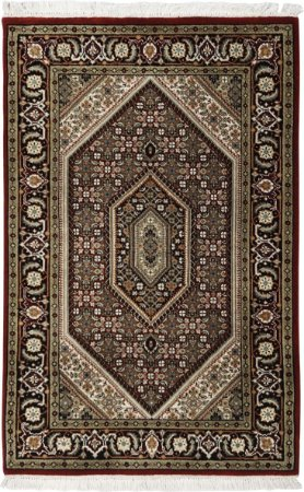 Tapete Tabriz Mahi Fino 0,79 X 1,22 Indiano L42239