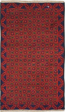 Tapete Nomade 0,83 X 1,38 Afegão 158638