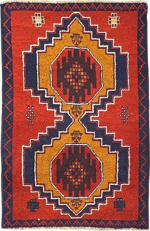 Tapete Nomade 0,87 X 1,34 Afegão 158623