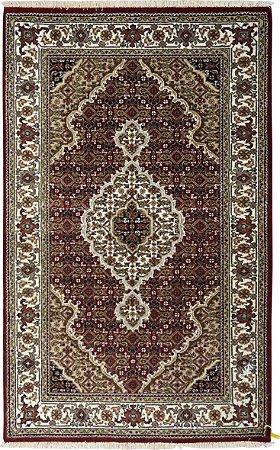 Tapete Tabriz Mahi 0,91 X 1,47 Indiano L0066347