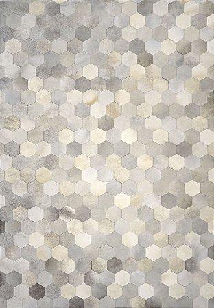 Tapete/Boi  Amazonas 2,40 X 3,60 Gris/Grey/Off White