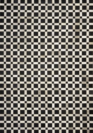 Tapete/Boi Pranto 2,00 X 3,00 Gris/Grey/Preto