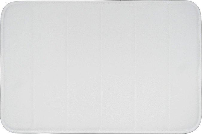 Tapete de Banheiro Miami 0,40 X 0,60 Branco
