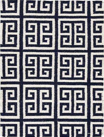 Tapete Kilim Geometrico 1,00 X 1,50 Indiano L106294
