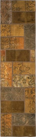 Passadeira Anatolian Patchwork 0,81 X 3,01 Turco U68