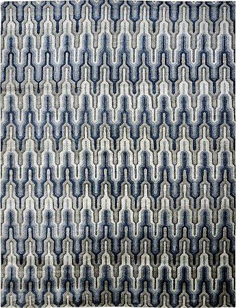 Tapete Shikhar Blue 2,68 X 3,57 Indiano L0063710