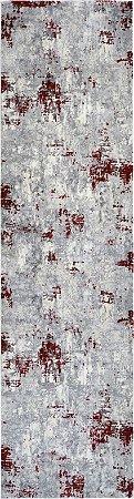 Passadeira Allure 0,80 X 3,00 15452A/Creme/Vermelho