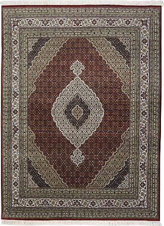 Tapete Tabriz Mahi 2,46 X 3,10 Indiano L42933