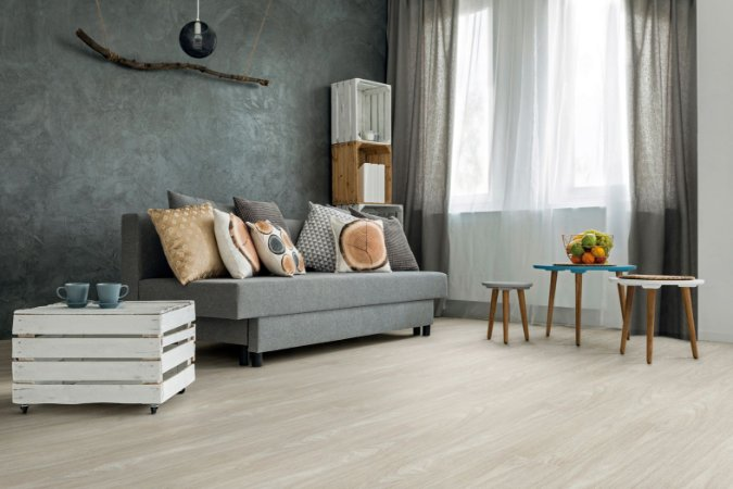 Piso Tarkett LVT Injoy 37009318 Lavanda - caixa com 3,78m²