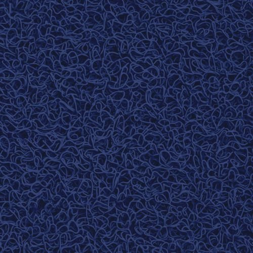 Capacho Vinílico Azul Royal 03 - 1,20m x 0,10cm