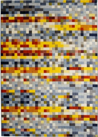 Tapete Pixel Novo 2,50 X 3,50 Colorido 13/75