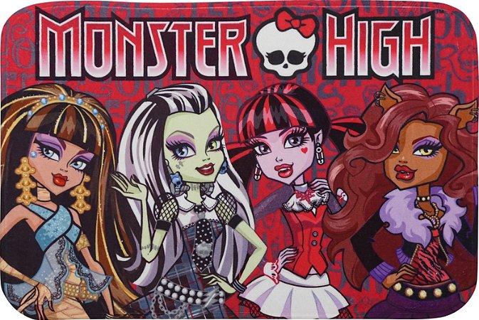 Tapete Transfer Mattel 0,50 X 0,75 Turma Monster High