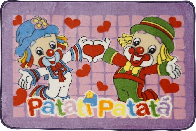 Tapete Patati Patata 0,80 X 1,20 Coração