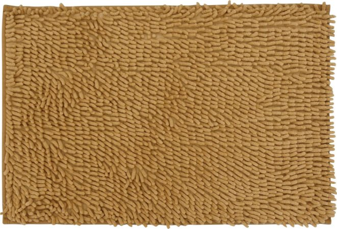 Tapete/Ban Bell Valley Chenille Shaggy 0,40 X 0,60 Marrom