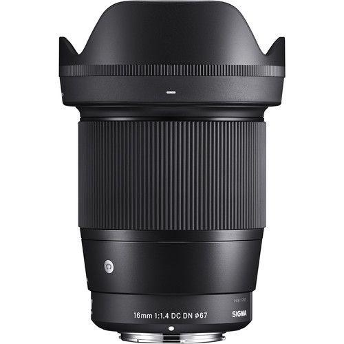 Lente Sigma 16mm F/1.4 DC DN Contemporary para Sony E-mount APS-C
