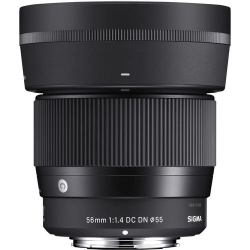 Lente Sigma 56mm F/1.4 DC DN Contemporary para Sony E-mount APS-C