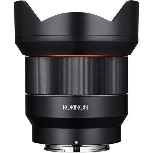 Lente Rokinon AF 14mm f/2.8 FE para Sony E-mount