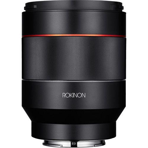 Lente Rokinon AF 50mm f/1.4 FE para Sony E-mount