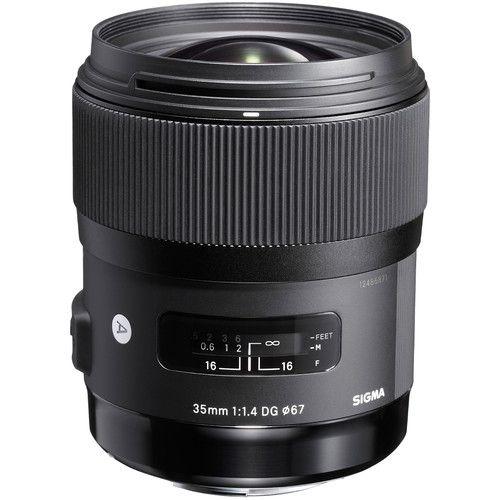 Lente Sigma 35mm f/1.4 DG HSM Art para Canon EF c/ Recibo