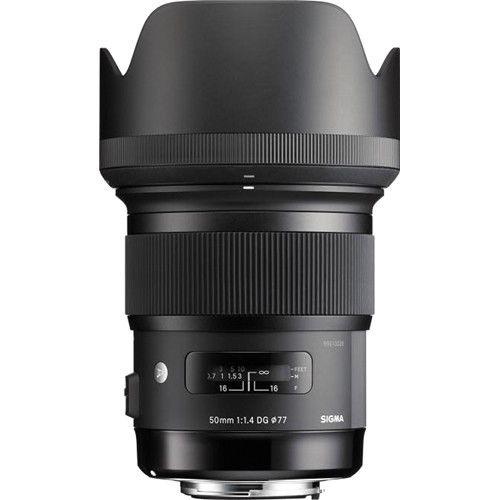 Lente Sigma 50mm f/1.4 DG HSM Art para Canon EF
