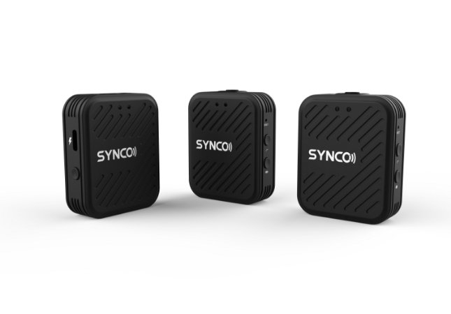 Microfone de Lapela Synco WAir-G1-A2 Ultracompact 2-Pessoas (2.4 GHz) NFe