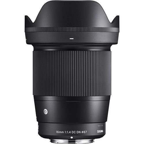 Lente Sigma 16mm F/1.4 DC DN Contemporary para Sony E-mount APS-C NFe