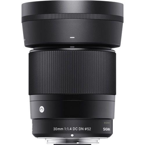 Lente Sigma 30mm F/1.4 DC DN Contemporary para Sony E-mount APS-C NFe
