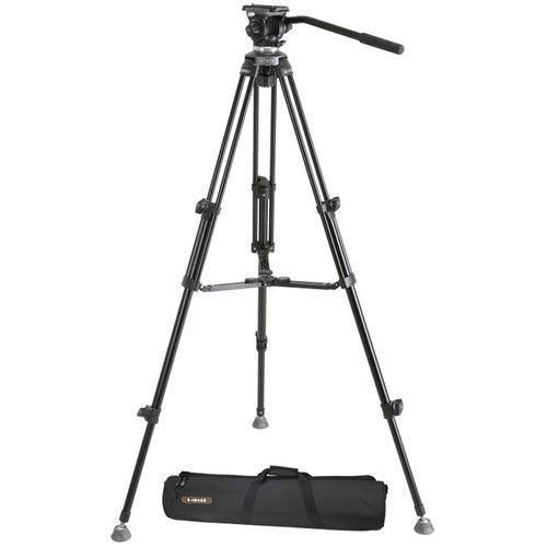 Tripé Para Video E-Image EK-610 Para Até 3kg